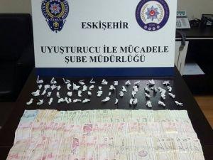 Eskişehir'de Uyuşturucu Operasyonu, 2 Gözaltı