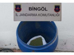 Bingöl'de 13 Kilo Esrar Ele Geçirildi