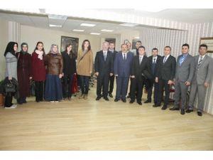 Başkanvekili Özak Öğretmenleri Ağırladı