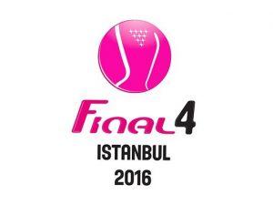 """""""Final 4 İstanbul 2016""""nın Logo tasarımı tamamlandı"""