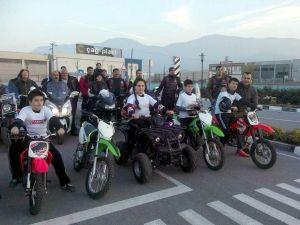 Manisa'da çocuklara uygulamalı trafik eğitimi