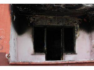 Madde Bağımlısı Olduğu İddia Edilen Genç Evini Ateşe Verdi