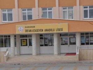 Karaman'da Lisedeki Taciz İddiasında Müdür Yardımcısı Açığa Alındı