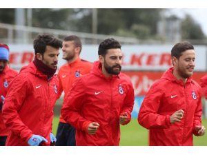 Trabzonspor, Gaziantepspor maçına hazırlanıyor