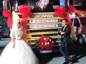 TIR, Düğün Arabası Oldu