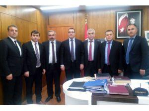 GMİS heyeti, TTK'nın işçi açıklarını Enerji Bakanlığı yetkililerine iletti