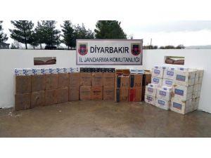 Diyarbakır'da 63 Bin 360 Paket Kaçak Sigara Ele Geçirildi
