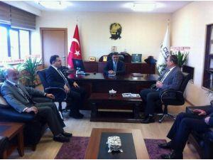 AK Parti İl Başkanı Şahin'den, Çedaş İl Müdürü Akboğa'ya Ziyaret