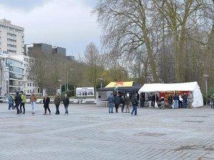 Belçika'da PKK çadırına yeniden izin verildi