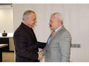 Erbil'den Başkan Ergün'e Ziyaret