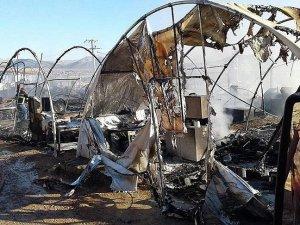 Mardin'de barınma merkezinde yangın: 3 ölü