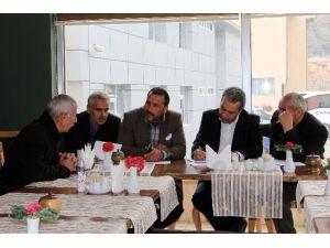 Çatak'ta Muhtarlar Toplantısı