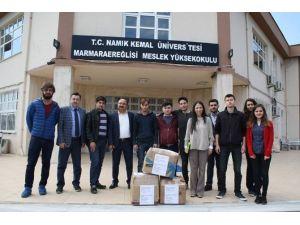 Marmara Ereğlisi'nden Çukurca'ya Yardım Eli
