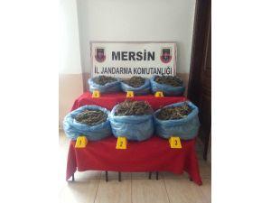 Mersin'de Jandarma 21 Kilo Uyuşturucu Ele Geçirdi