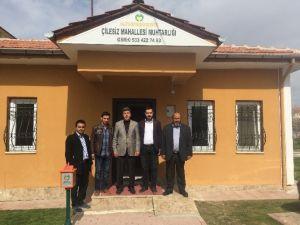Yeşilyurt AK Gençlik'ten Muhtarlara Ziyaret
