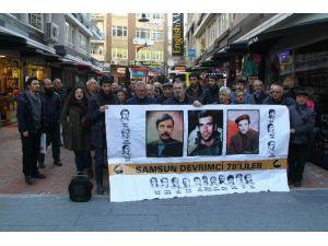 Samsun'da Kızıldere Eylemi