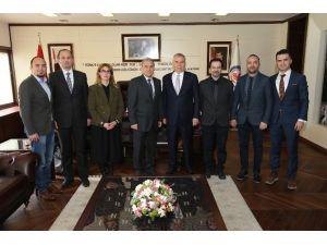 Mimarlar Odası'ndan Başkan Zolan'a Ziyaret