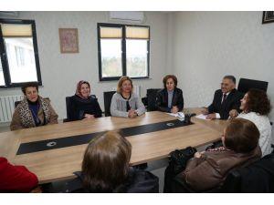 Kayseri Kadın Platformundan Melikgazi'ye ziyaret