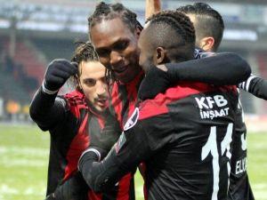 Gaziantepspor, Gol Yollarında Suskun Kaldı
