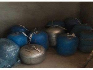 Nusaybin'de Bir Evde Patlayıcılar Ele Geçirildi