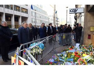 Nazarbayev, Brüksel'de terör kurbanlarını andı