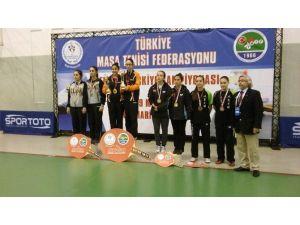 Hakkarili Sporcular Türkiye Üçüncüsü Okudu