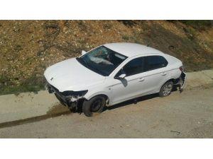Otomobil Takla Attı: 1 Ağır Yaralı