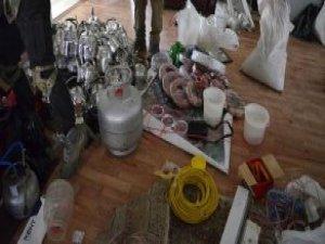 Şırnak'ta Bomba İmalathanesi Bulundu