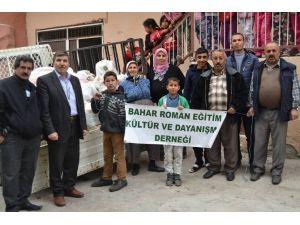 Roman Derneğinden Bayırbucak Türkmenlerine Yardım