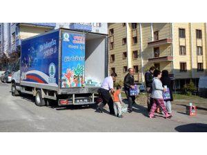 Tebessüm Çarşısı'ndan Bin 200 Aileye Gıda Yardımı