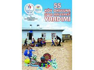 Samsun'da 55 Köy Okuluna Spor Malzemesi Dağıtılacak