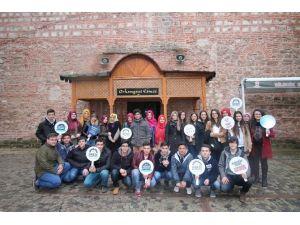 41 Genç Osmanlı'nın Kuruluş Dönemine Ait Yerleri Gezdi