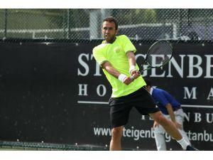 Marsel İlhan, İsrail'deki ATP Challenger turnuvasında ikinci tura çıktı