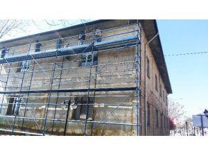 Avanos Halk Eğitim Merkezi'nde Restorasyon Çalışmaları Başladı