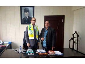 Yamanspor'dan, Tut Kaymakamı Mehmet Aksu'ya Ziyaret