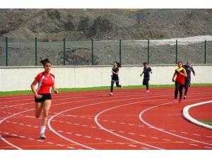 Puanlı Atletizm Müsabakaları Yapıldı