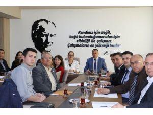 Manisa Büyükşehir 17 İlçe Belediyesini Bilgilendirdi