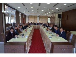 Torun İlçe Başkanlarıyla Bir Araya Geldi