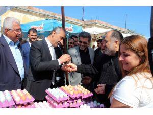 Arsuz'da 'Yumurta Bayramı' kutlandı