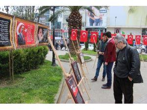 Alperenlerden 'Muhsin Yazıcıoğlu' Sergisi