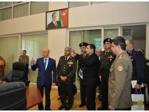 Mısır Sınır Güvenliği Komutanı Bakü'de