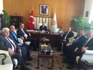 Belediye Başkanları Mecliste