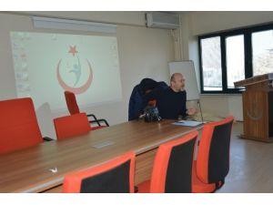 """Afyonkarahisar'da Aile Hekimlerine """"Göz Muayenesi"""" Eğitimi Verildi"""