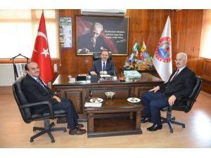 Yikob'dan Başkan Şahin'e Ziyaret
