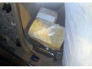 Jack'in kokladığı otomobilde 34 kilo kilo eroin çıktı