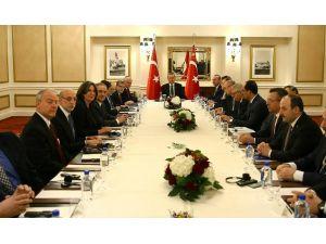 Erdoğan, ABD'deki Musevi kuruluşların temsilcilerini kabul etti