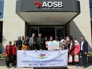 Aosb, Suriyeli Öğrencileri Konuk Etti