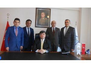 TSK Mehmetçik Vakfı Erzurum Temsilciliği'nde Nöbet Değişimi