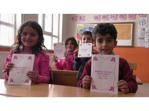 Köy okulu öğrencileri kendi kitaplarını yazdı