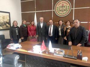 Uşak CHP'den Baro Başkanı Kantar'na Ziyaret